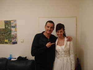 Hviezda Valentínskeho plesu taliansky spevák Davide Mattioli :-)