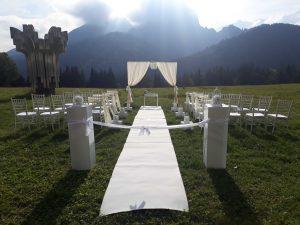 Svadobný obrad pod Belianskymi Tatrami